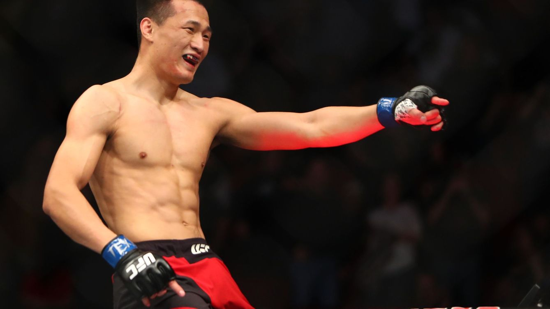 UFC Greenville: el KO de ultratumba del zombie coreano a Renato Moicano