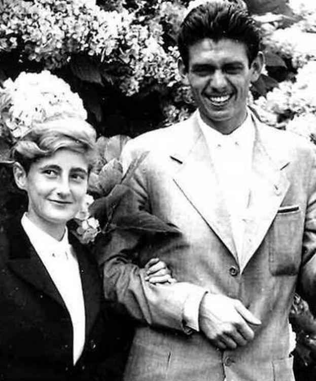 Foto: La duquesa de Medina Sidonia y Leoncio González de Gregorio y Martí
