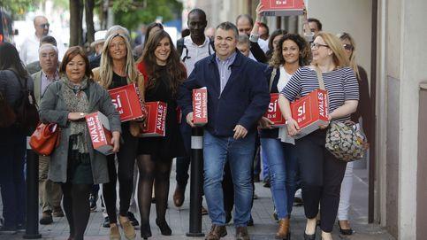 Sánchez sorprende con 57.000 avales frente a los 63.000 de Díaz y los 12.000 de López