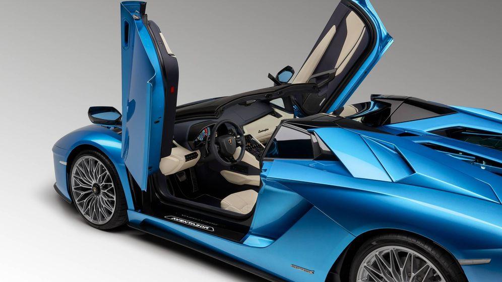 motor: lamborghini aventador roadster s, 740 caballos para un