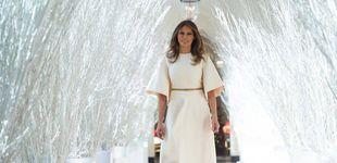 Post de Melania y su sobredosis de espíritu navideño: llena la Casa Blanca de árboles