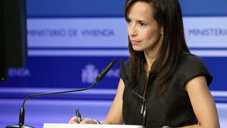 Beatriz Corredor, en su etapa como ministra de Vivienda. (EFE)