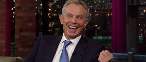 Tony Blair hace caja con una fiesta de su hijo