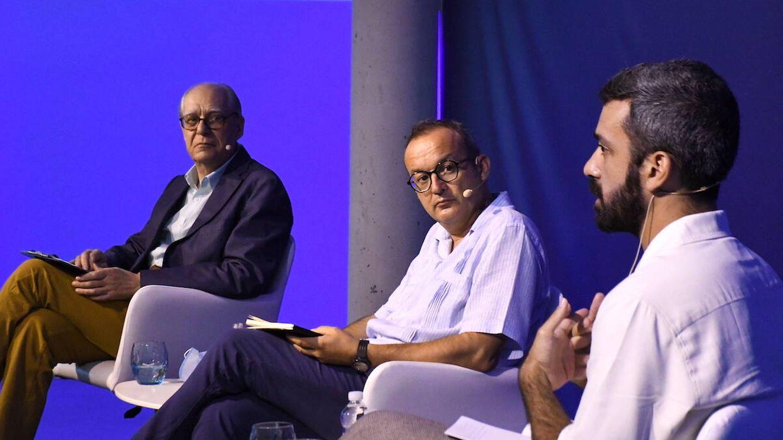 Guillermo Carnero, Juan Carlos Abril y Javier Vela | Marpoética