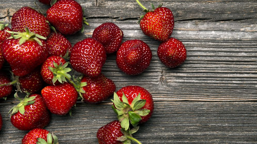 Foto: La fresa es una de las frutas más demandadas en su temporada y gusta a mayores y pequeños