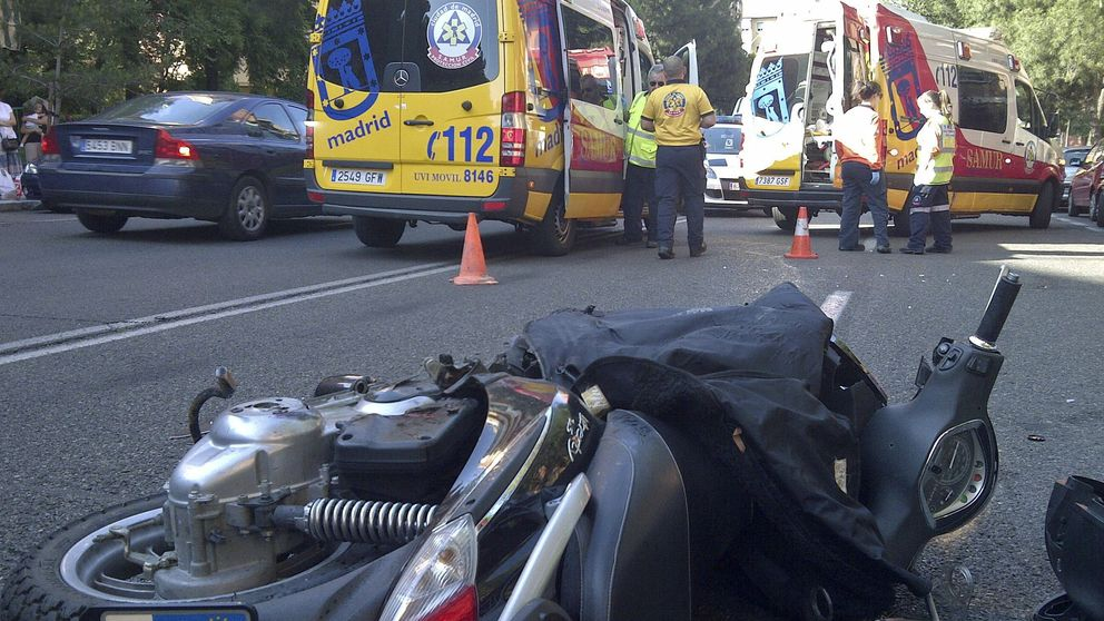 Un motorista fallece en un accidente en Majadahonda