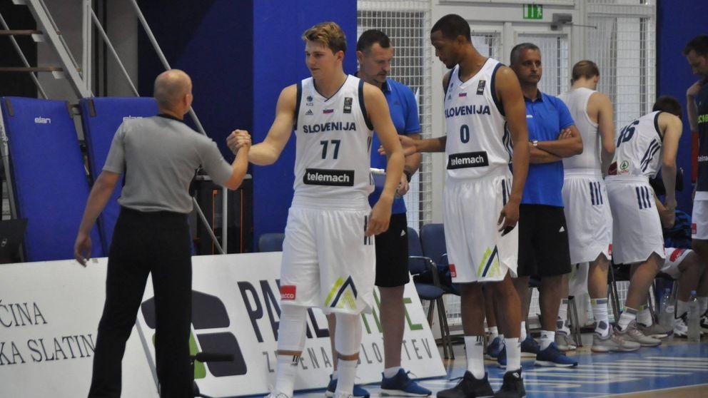 Doncic arranca el año que puede marcar su carrera brillando con Eslovenia