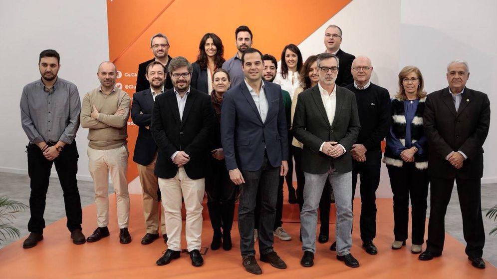Foto: El nuevo Comité Autonómico de Ciudadanos Madrid, con Ignacio Aguado al frente