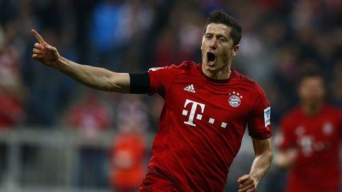 Brutal Lewandowski: cinco goles en nueve minutos en la victoria del Bayern