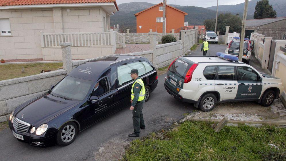 Foto: Encuentran los cadáveres de una pareja en Porto (Coruña). (EFE)
