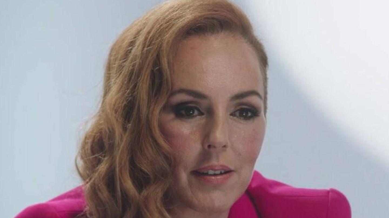 Rocío Carrasco, en la docuserie. (Mediaset)