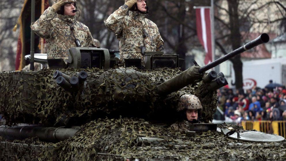 Los países bálticos se rearman frente a Rusia, inquietos por el 'factor Trump'