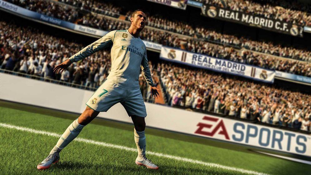 Foto: Ronaldo en plena acción en el FIFA 18.