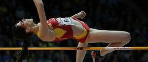 Ruth Beitia consigue la medalla de oro en salto de altura en los Europeos de Gotemburgo