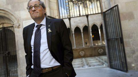 Quim Torra traspasará la línea legal solo si el pueblo catalán se echa a la calle