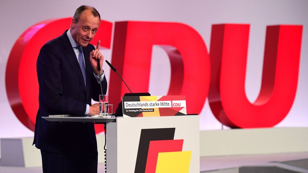 Foto: Friedich Merz, el derechista de la CDU con más posibilidades de suceder a Merkel. (Reuters)
