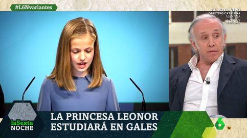 Eduardo Inda pide cerrar RTVE por el polémico rótulo de Leonor