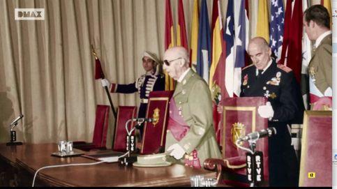 Las imágenes, nunca antes emitidas, de Franco extremadamente débil