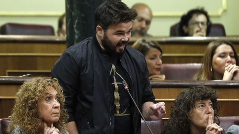 Rufián a Rajoy: Le exijo que saque sus sucias manos de las instituciones catalanas