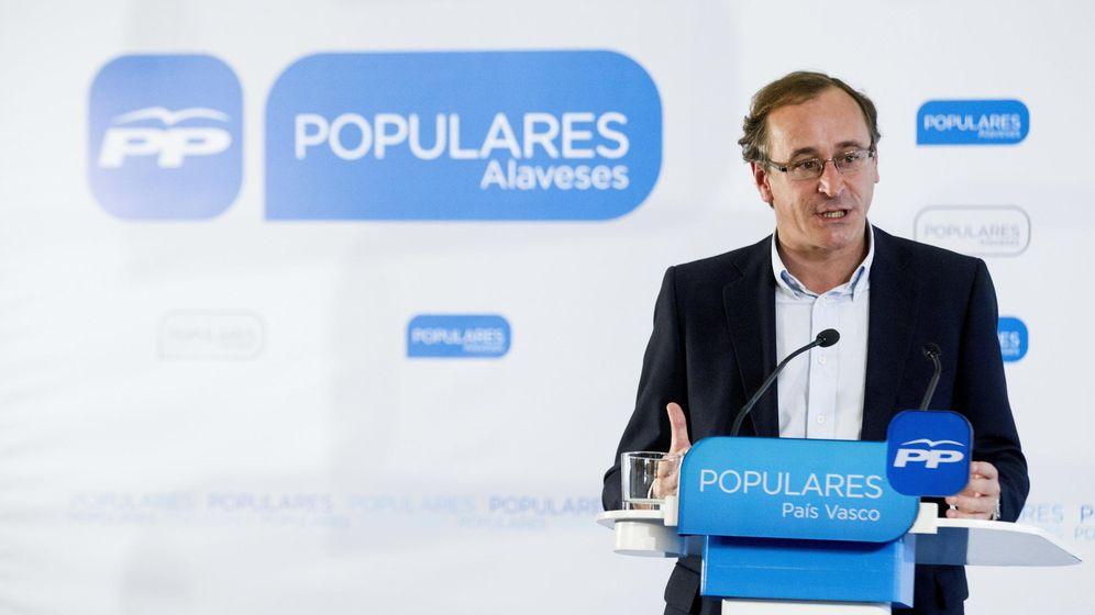 Foto: El portavoz parlamentario del PP, Alfonso Alonso. (EFE)