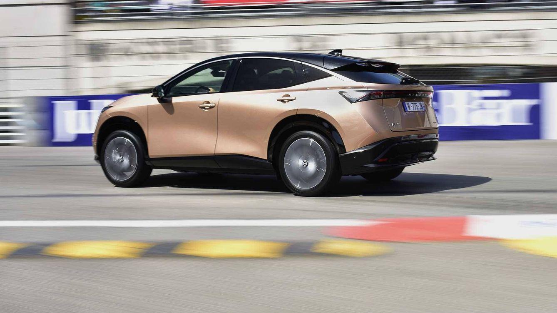 El innovador Nissan Ariya eléctrico se estrena en las calles de Mónaco
