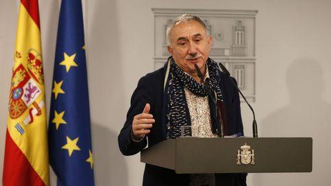 Álvarez (UGT) vincula las protestas del campo con la derecha terrateniente, carca