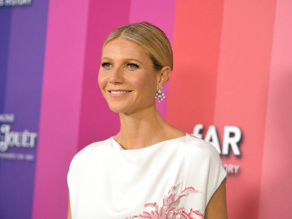 Foto: Gwyneth Paltrow, en la gala amfAR. (Getty)