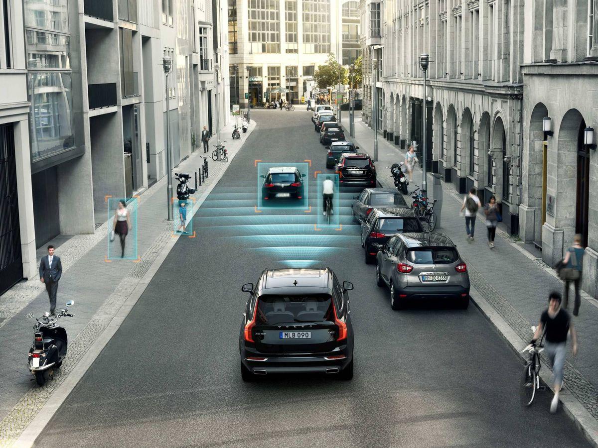 Foto: Los coches son cada día más seguros en ciudad gracias a los miles de millones de inversión de los fabricantes.