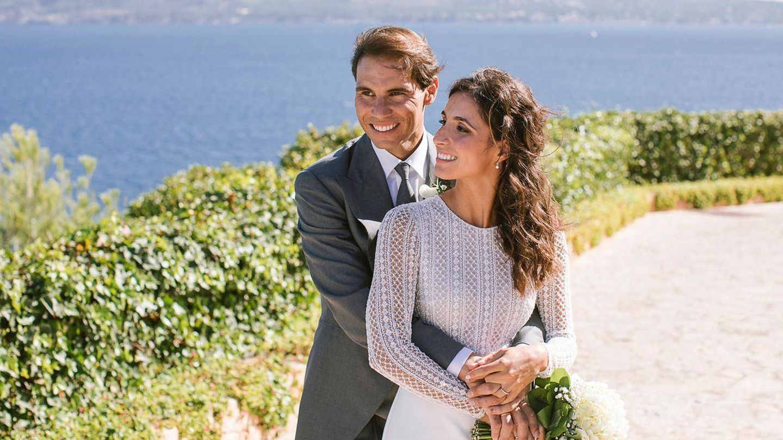 Rafa y Xisca, felices. (Fundación Rafa Nadal)
