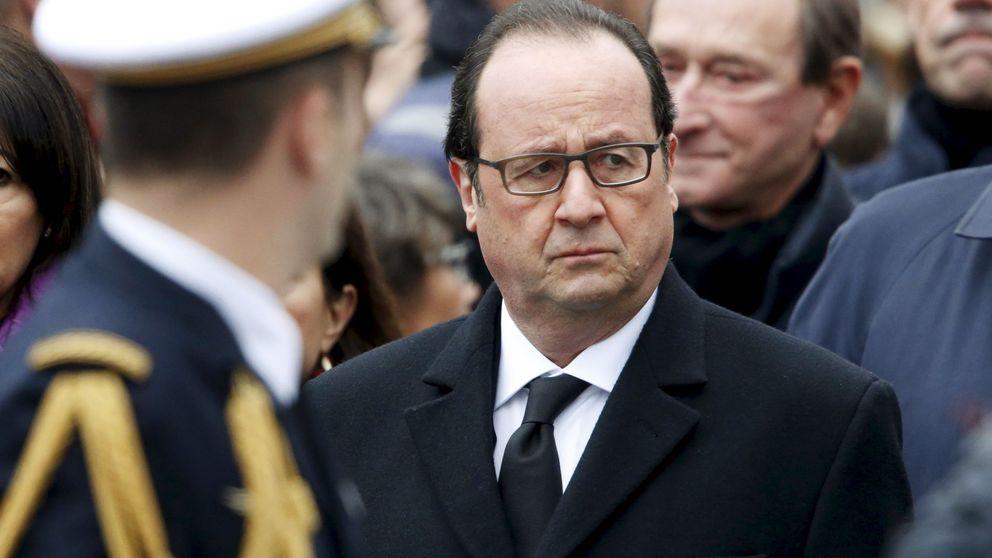 La popularidad de Hollande se hunde dos meses después de los atentados
