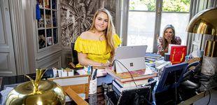 Post de Amalia de Holanda, la princesa 'currante': su jornada como camarera en una cafetería
