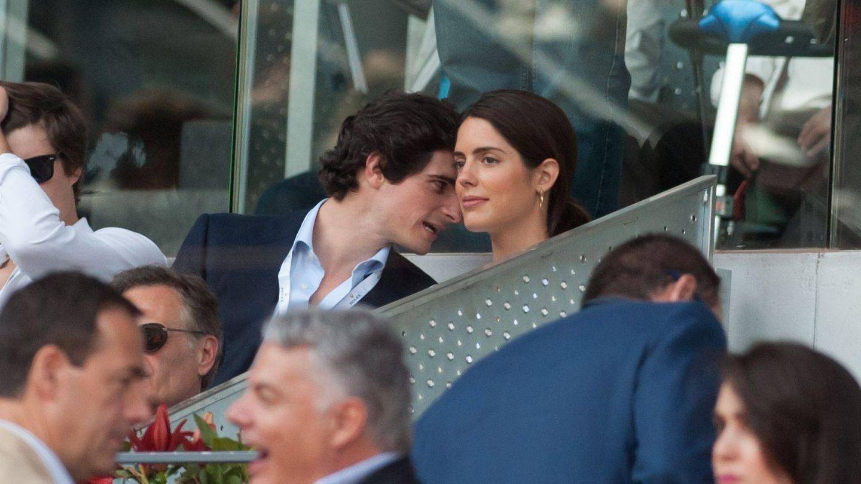 Fernando Fitz-James y Sofía Palazuelo, en mayo. (Cordon Press)