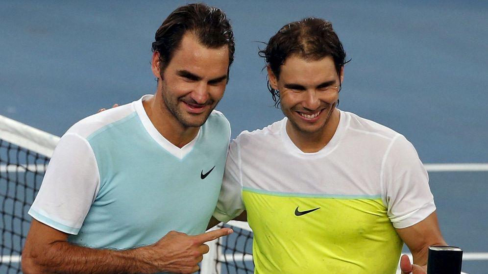 Foto: Nadal-Federer, la última batalla épica del tenis mundial (Efe).
