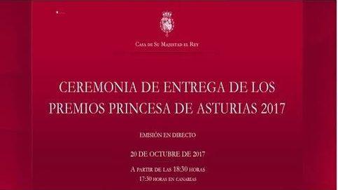 Ceremonia íntegra de entrega de los Premios Princesa de Asturias 2017