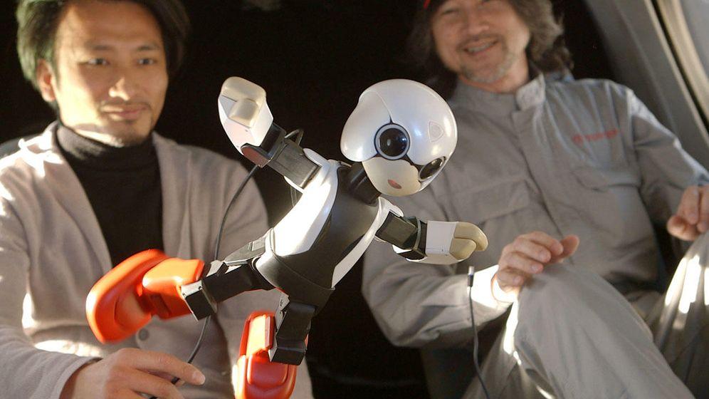 Foto: El inventor japonés que quiere meter un robot en tu bolsillo