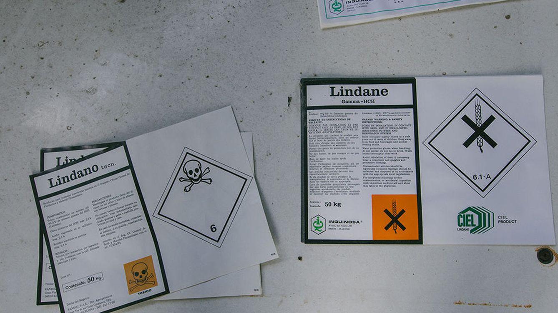 Lindano en el agua de Aragón: el Chernóbil español