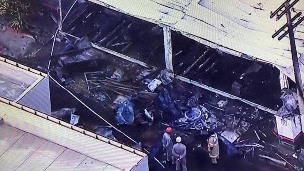 Al menos 10 muertos en un incendio en la residencia del Flamengo en Río