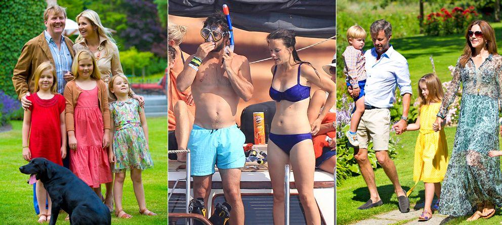 Foto: Los 'royals' disfrutando de las vacaciones
