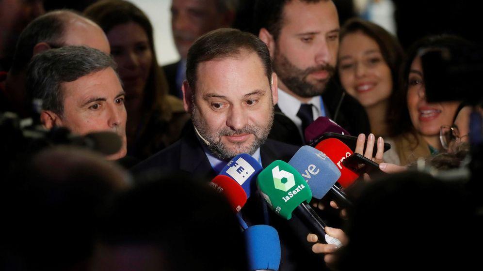 Foto: El secretario de Organización del PSOE, José Luis Ábalos, el pasado 12 de diciembre en la cumbre del clima de Madrid. (EFE)