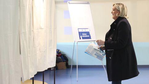 Le Pen le gana la partida a Macron en las elecciones europeas, según 'Le Soir'