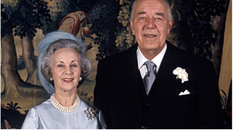 Los príncipes Bertil y Lilian May Davies en su boda. (Casa Real de Suecia-Jan Collsiöö, Scanpix)