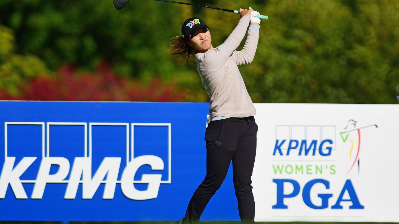 Foto del torneo de golf femenino patrocinado por la auditora KPMG. (Reuters)
