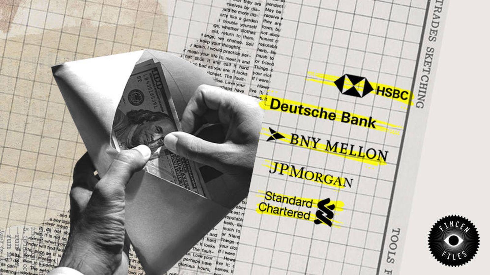 FinCEN Files: cómo los gigantes bancarios ayudan a blanquear billones de  dinero negro