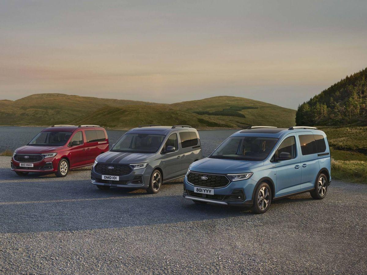 Foto: Un gama muy completa, con dos longitudes de carrocería y cuatro estilos: Trend, Titanium, Sport y Active.
