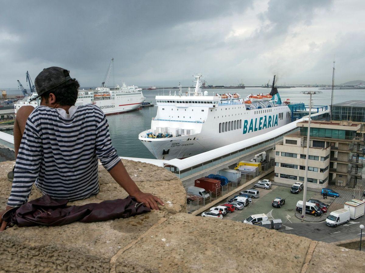 Foto: El Puerto de Melilla. (EFE)