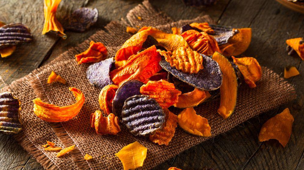 Foto: Chips vegetales. (iStock)