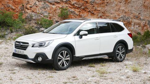 Subaru Outback, el todoterreno que circula como si fuera por raíles