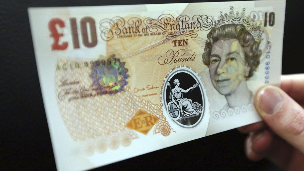 Foto: La libra protagoniza el mayor repunte frente al euro desde 2009