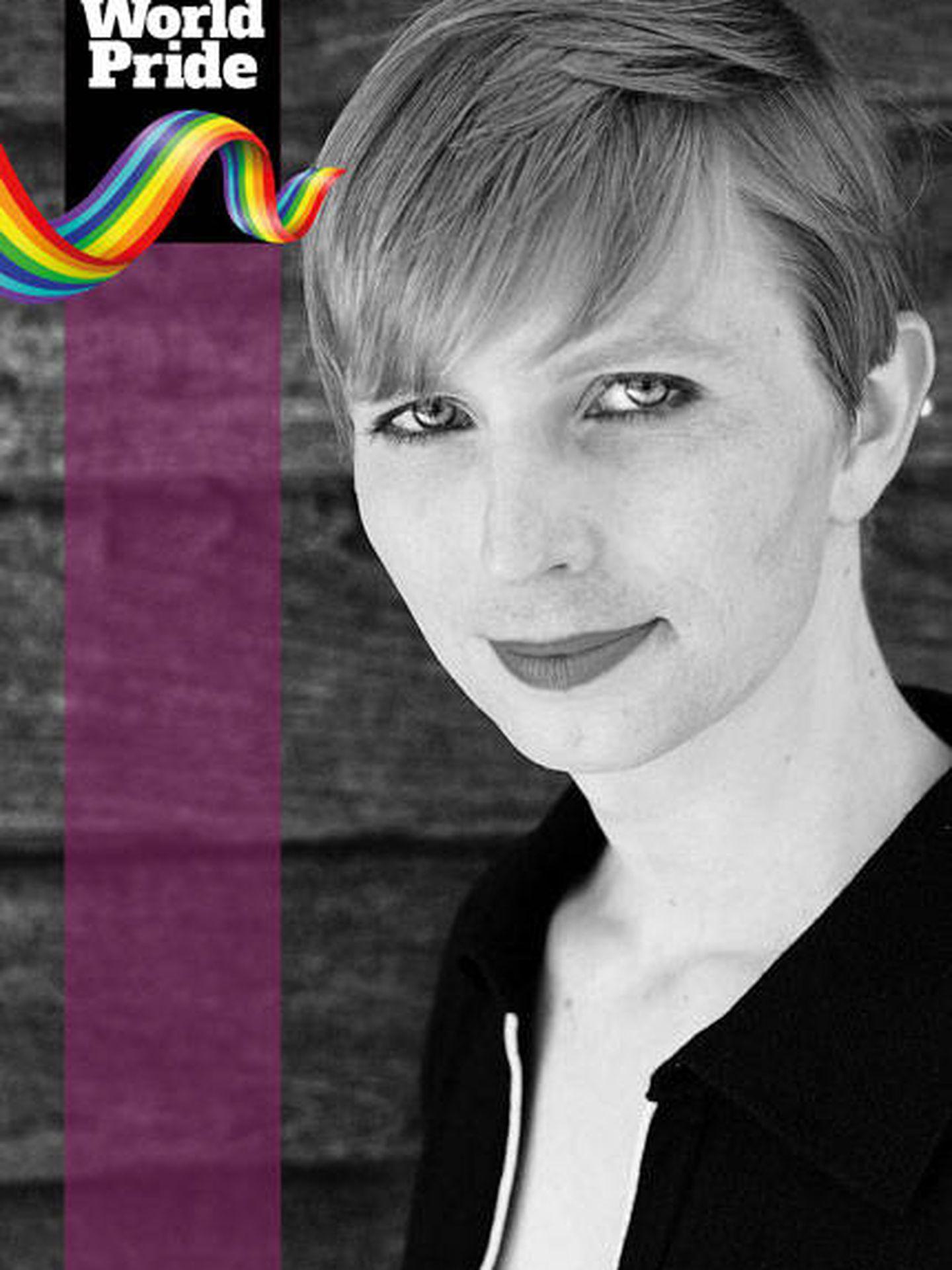 Orgullo LGTBI 2017: Chelsey Manning.