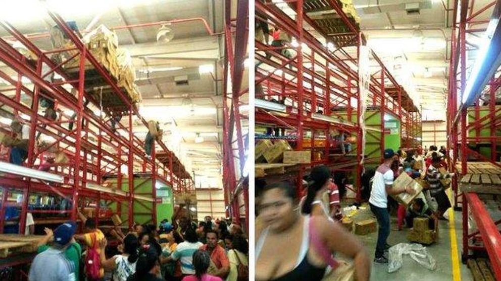 Nuevo saqueo a un supermercado de Venezuela por la escasez de alimentos
